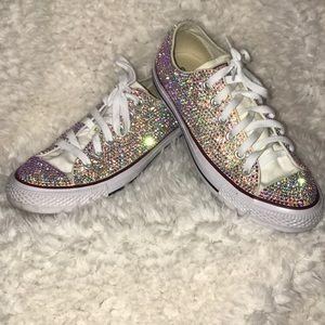 712f74d4eff0 Women s Bling Converse Shoes on Poshmark